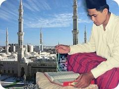 Imron di Masjid Nabawi [Desktop Resolution]